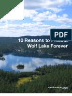 Wolf Lake Report