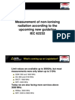 Measurement of Non-ionising Radiation According to the Upcoming New Guideline IEC 62232