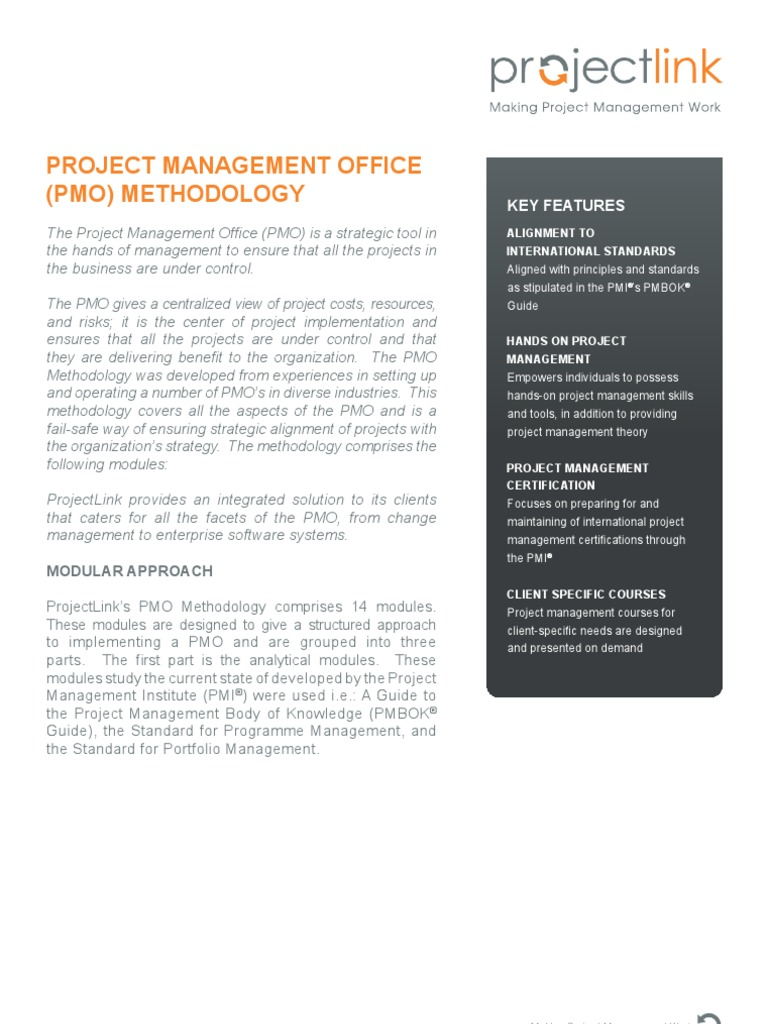 Pmo project management modularity xflitez Image collections