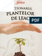 dictionarul plantelor