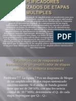 Amplificadores Sintonizados de Etapas Multiples
