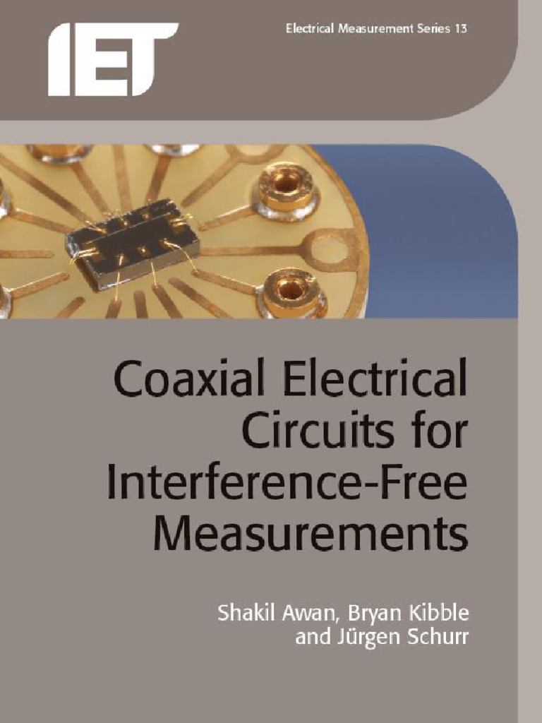 Coaxial Electrical Circuits For Interference Free Measurements Computer Integrated Circuit Diagram Filtercircuit Basiccircuit Transformer Impedance