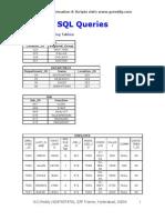 Oracle SQL Queries1