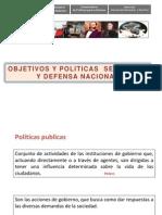 Objetivos y Politicas de Seguridad y Defensa Naciona Andahuaylas