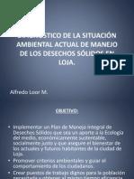 Diagnostico Ambiental Loja Alfredo Loor