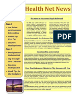 Midwest Agency Benefit Planners Newsletter- April 2012
