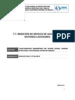 7.7. Medicion de Los Niveles en Los Sistemas Lagunares_E1