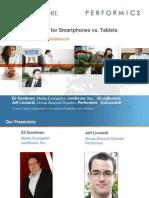 ComScore_Performics_Strategies for Smart Phone vs. Tablets