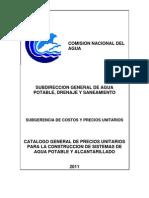 Catalogo 2011 CONAGUA
