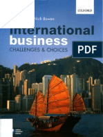 International Business - Challenges and Choices