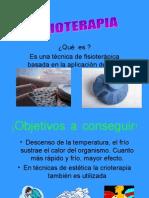TRABAJO DE CRIOTERAPICA