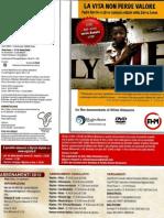 """""""La vita non perde valore"""" sulla Copertina interna di Nigrizia, maggio 2012"""