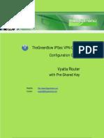 Vyatta VPN Router w/ PreSharedKey  & GreenBow IPsec VPN Software Configuration