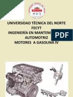 MOTORES A GASOLINA IV (inyección directa)