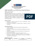 MODELO de PLANIFICACION Desarrollo y Mercadeo de Nuevos Productos