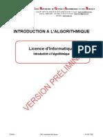 Algorithmique, Types de données, Introduction, 01