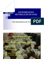 Enfermedades Metabolic As en Aves
