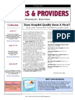 Payers & Providers Midwest Edition – Issue of May 15, 2012