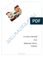 Libro de Cocina Oriental
