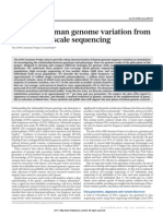 Map of Human Genome Variation - 1000 Genome Project