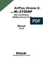 Dwl-2100ap Manual 210