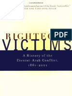 Righteous Victims - Benny Morris