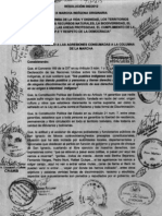 Repudio Agresiones San Ignacio