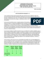 ADM2110 - EXERC AVANCADOS - 01