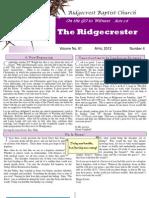 Ridgecrester April