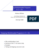 Designing Mt Programs