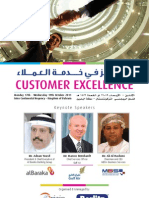 Customer Excellence Forum