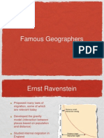 Famous Geographers PPT 2010