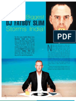 World's Biggest DJ Fatboy Slim Storms India