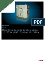 DISJUNTOR CA Vd4-50ka(Pt)r 1vcp000001-1101a