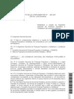 PLC 9307 - Finanças Solidárias