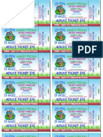 PICNIC Adult Tickets