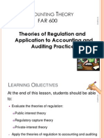 Theories of Regulation and Appl to Acc and Aud Practices