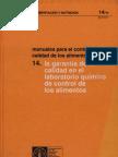 FAO Manual de Control de Requisitos de La Calidad