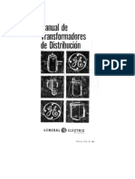 Manual de Transform Adores de Distribucion - GE