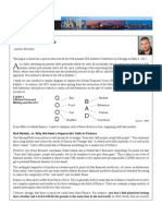 Flaws of Finance - Montier