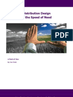 POV - Distribution Design at the Speed of Need