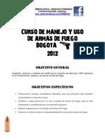Curso Manejo de Armas 19/05/2012