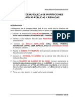 Manual de Busqueda de Instituciones Educativas (COLEGIOS) -PERU