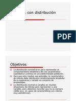 Distribucion Normal Calculo Formulas)