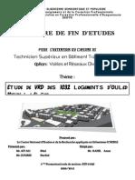 ETUDE DE VRD DES 1032 LOGEMENTS D'OULED MENDIL A ALGER