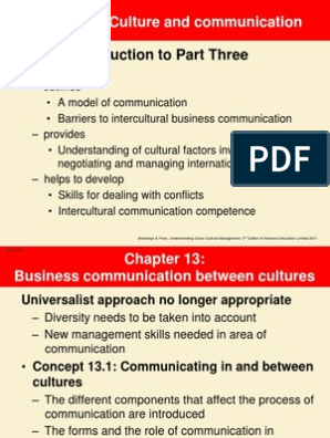 The Importance Of Intercultural Communication Competence In