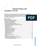 Model Based Design Civil3D Wp