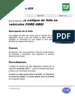 CODIGOS OBD1