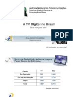 Acontece Anatel Palestras Comunicacao Massa Palestra Tvd No Brasil