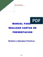 Manual Para Cartas Presentacion